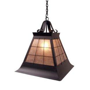 Read Reviews Top Ridge 1-Light Outdoor Pendant By Steel Partners