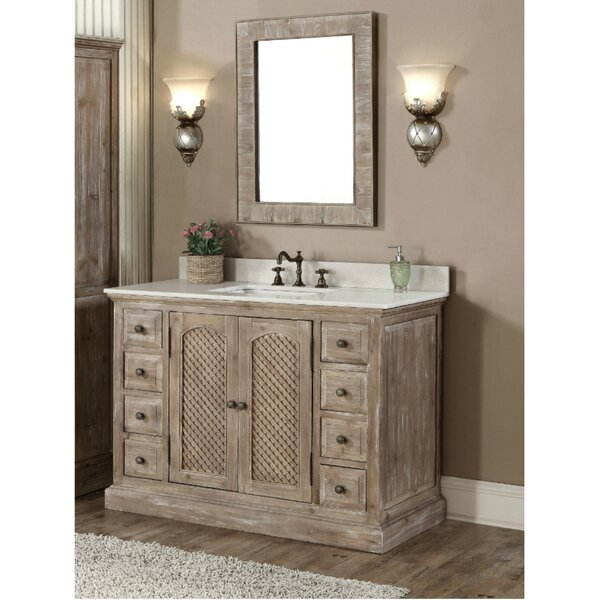 Clemmie 49 Single Bathroom Vanity Set by Laurel Foundry Modern Farmhouse