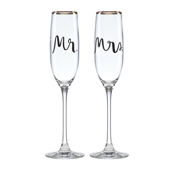 Bridal Party Flute Pair (Set of 2) by kate spade new york