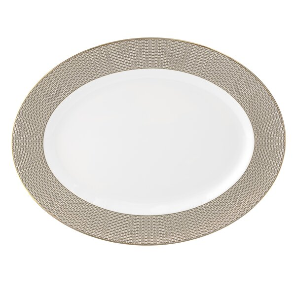 Lismore Diamond Oval Platter by Waterford