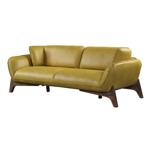 Dandridge Leather Sofa By George Oliver
