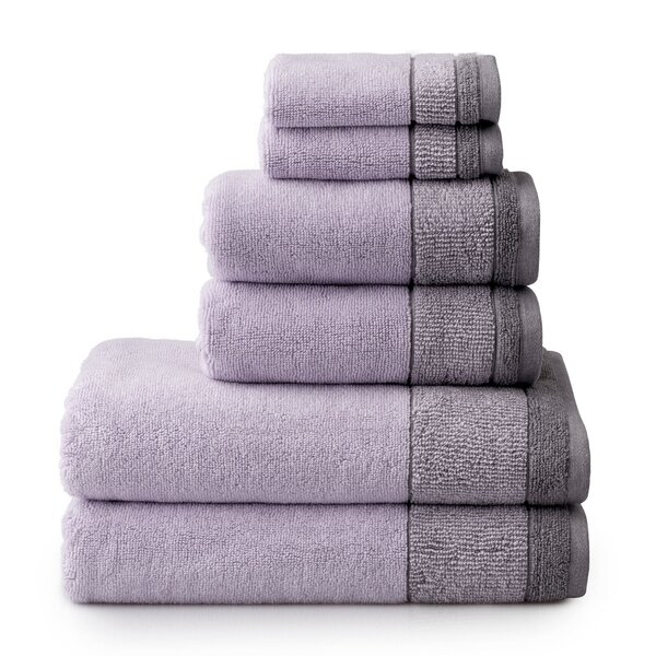 Killingworth Charcoal 3 Piece Towel Set by Charlto