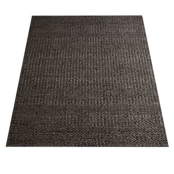 Ann Hand-Knotted Gray Indoor/Outdoor Area Rug by World Menagerie
