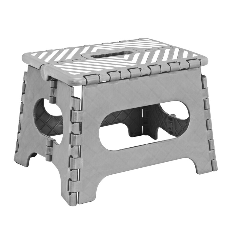 1-Step Plastic Folding Step Stool with 200 lb. Load Capacity  sc 1 st  Wayfair : plastic folding stools - islam-shia.org