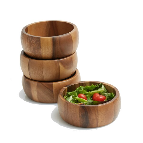 Jace Individual Salad Bowl (Set of 4) by Mint Pantry