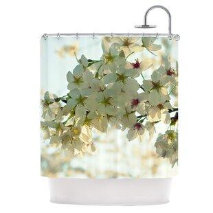 Cherry Blossoms Shower Curtain ByKESS InHouse