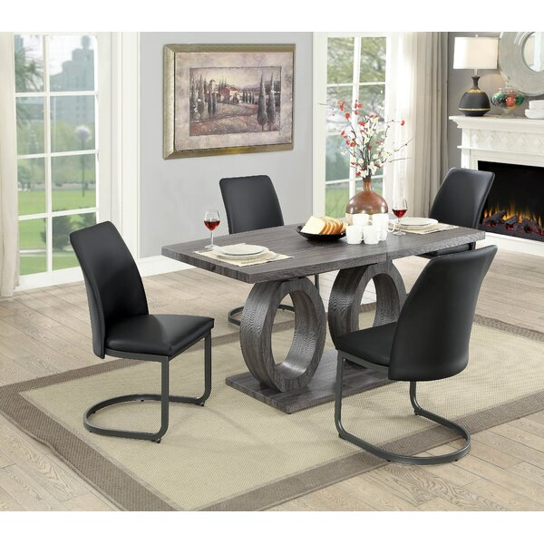 Paquette 5 Piece Extendable Dining Set by Brayden Studio