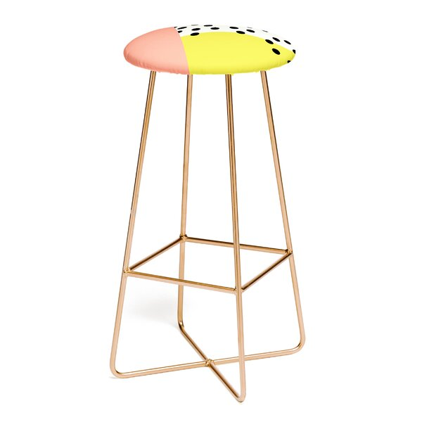 Allyson Johnson Mod Dots 30 Bar Stool by East Urban Home