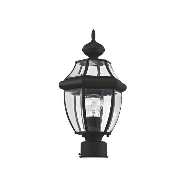Gustavson Outdoor 1-Light Lantern Head by Three Posts