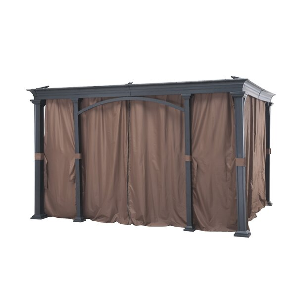Universal Curtain for Monterey Gazebo (Set of 8) by Sunjoy