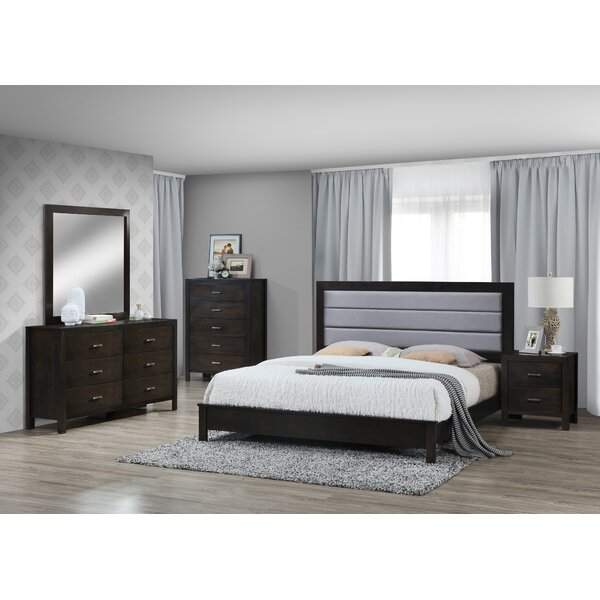 Vandergriff Panel 4 Piece Bedroom Set by Latitude Run