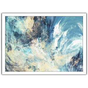 Feeling Blue Framed Painting Print by Picture Perfect International
