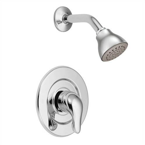 Chateau Thermostatic Shower Faucet Trim with Lever Handle by Moen