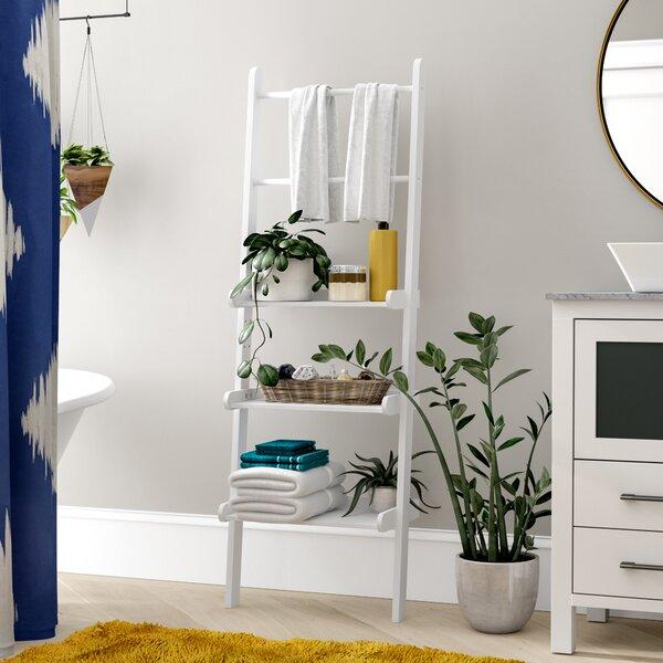 Vanbrunt 20 W x 59.25 H Bathroom Shelf by Mercury Row
