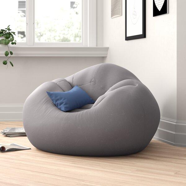 Large Beanless Bean Bag Chair & Lounger By Zipcode Design