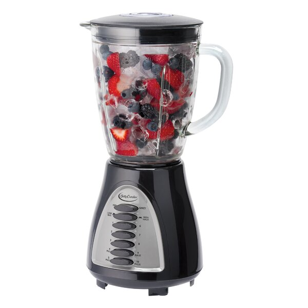 10 Speed Glass Jar Blender by Betty Crocker