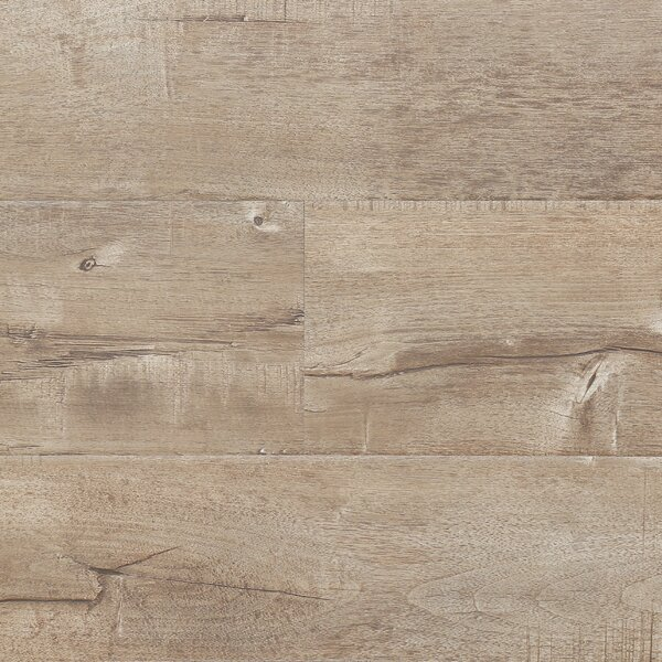 7 x 48 x 12.3mm Laminate Flooring in Latte (Set of 22) by Serradon
