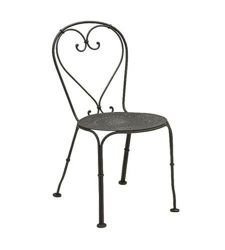 Parisienne Stacking Patio Dining Chair by Woodard