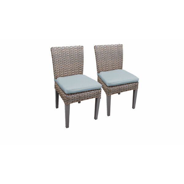 Kenwick Patio Dining Chair with Cushion (Set of 2) by Sol 72 Outdoor