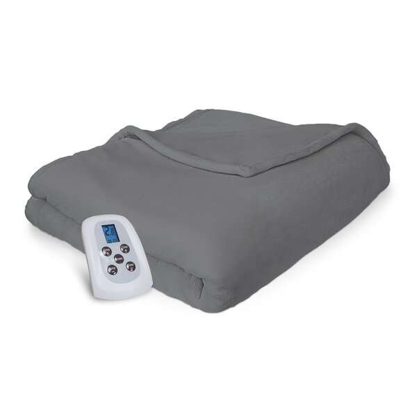 Comfort Plush Electric Heated Blanket by Serta