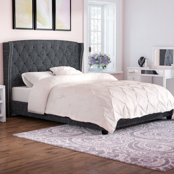 Destiny Upholstered Panel Bed by Willa Arlo Interi