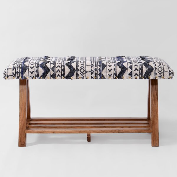 Churchwell Upholstered Storage Bench by Bungalow Rose