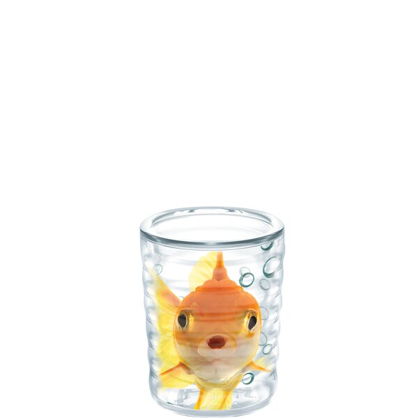 Pets Goldfish Collectible 6 Piece Plastic Every Day Glass Set (Set of 6) by Tervis Tumbler