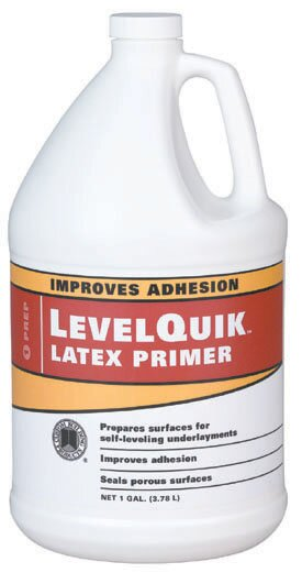 LevelQuik Latex Primer 1 Gallon (Set of 4) by Custom Building ProductsLevelQuik Latex Primer 1 Gallon (Set of 4) by Custom Building Products
