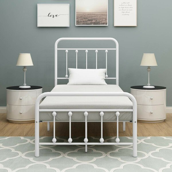 Weldon Metal Platform Bed by 17 Stories