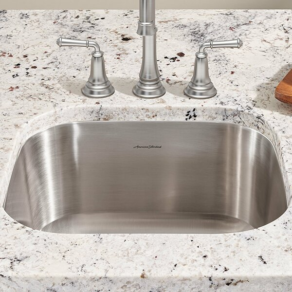 Portsmouth 17.88 L x 16 W Single Bowl Undermount Kitchen Sink by American Standard