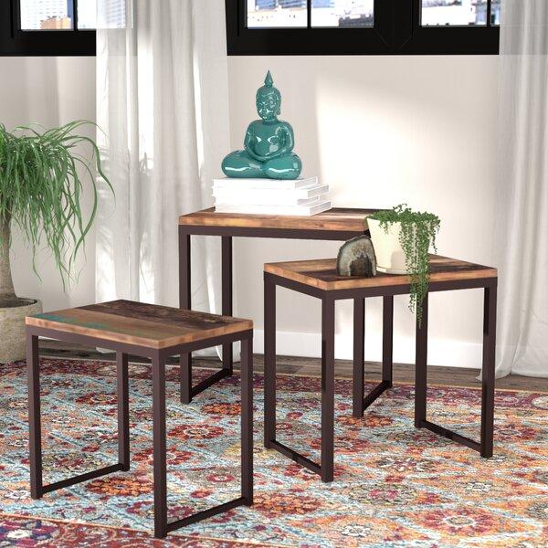 Norita 3 Piece Nesting Tables by Bungalow Rose