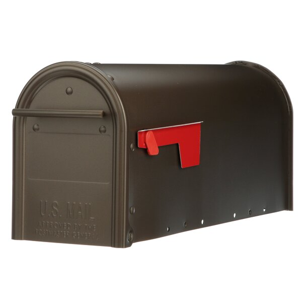 Franklin Post Mounted Mailbox by Gibraltar Mailboxes