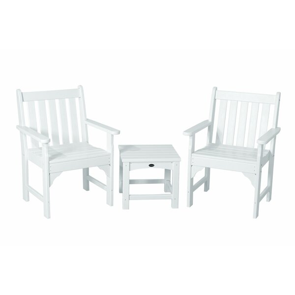 Vineyard 3-Piece Garden Chair Set by POLYWOOD®