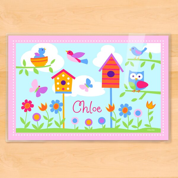 Birdie Personalized Placemat by Olive Kids