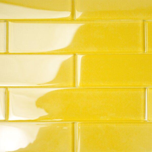 Contempo 2 x 8 Glass Subway Tile in Mata Hari by Splashback Tile