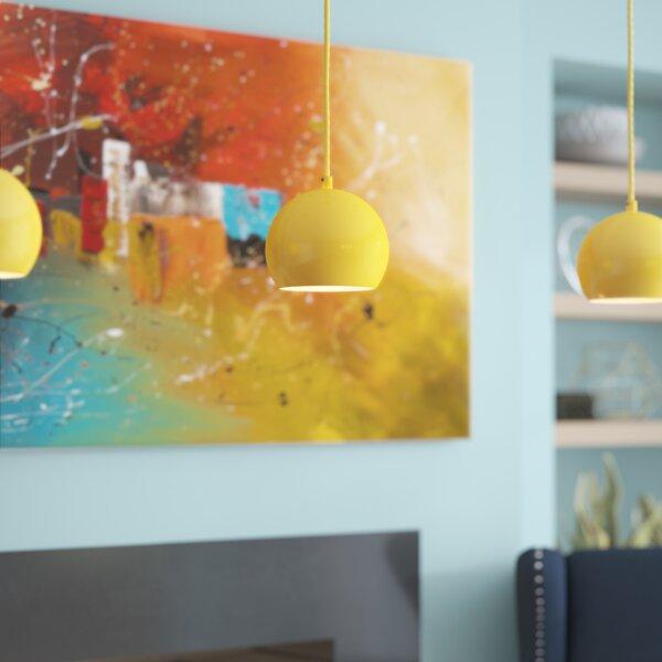 Capucina 1-Light Globe Pendant by Zipcode Design
