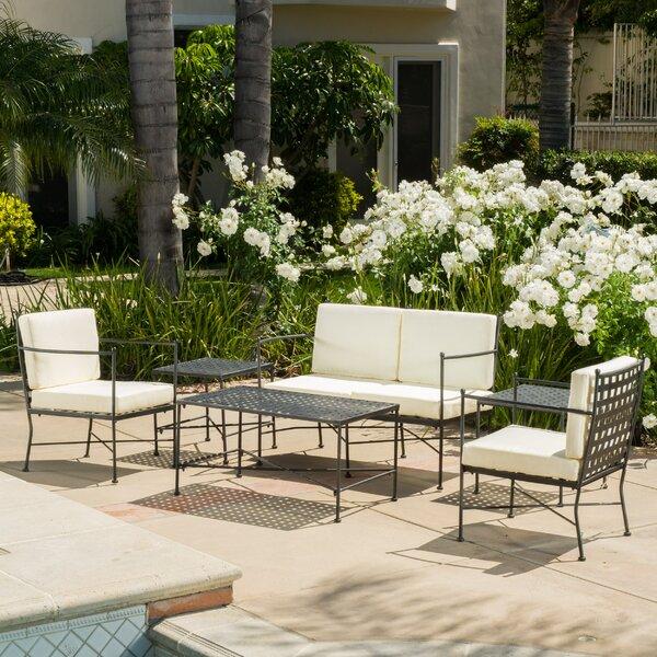 Hanselman 6 Piece Sofa Set with Cushions by Alcott Hill