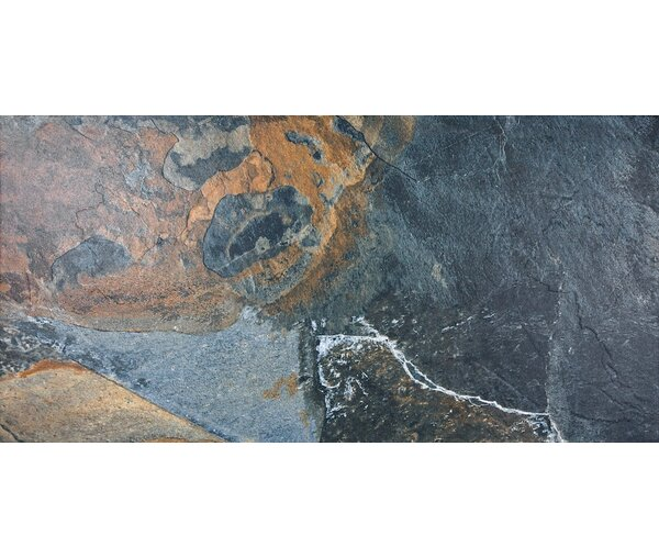 Bay 12 x 24 Porcelain Tile in Earth by Parvatile
