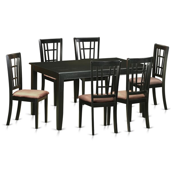 Araminta 7 Piece Dining Set by Alcott Hill