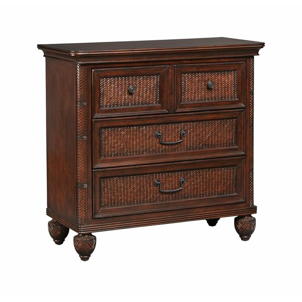 Steinfeld 3 Drawers Accent Chest by World Menagerie World Menagerie