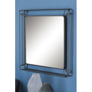 Metal Wall Mirror by Cole & Grey
