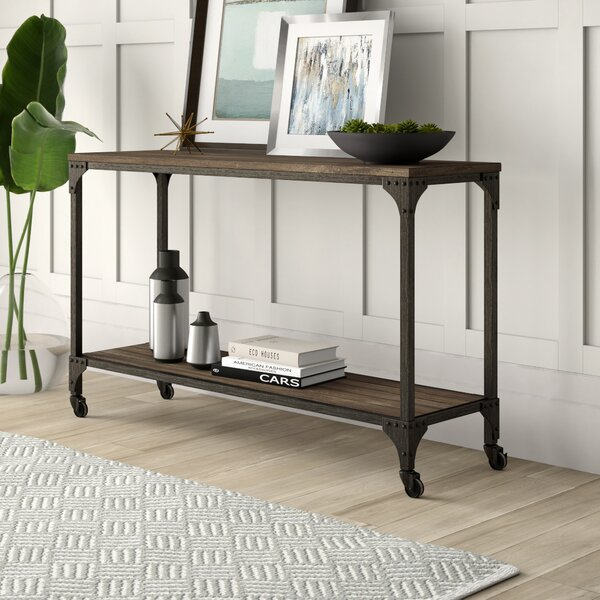 Mercury Row Brown Console Tables