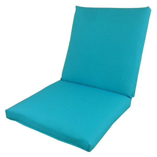 Oxford Indoor/Outdoor Lounge Chair Cushion by Edie Inc.