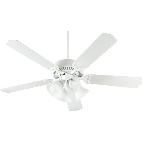 52 Staffordshire 5-Blade Ceiling Fan by Three Posts