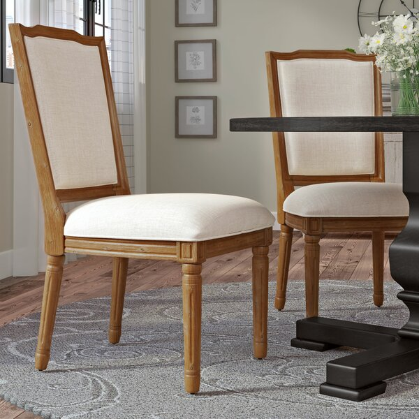 Lachance Ornate Upholstered Dining Chair (Set of 2) by Ophelia & Co.