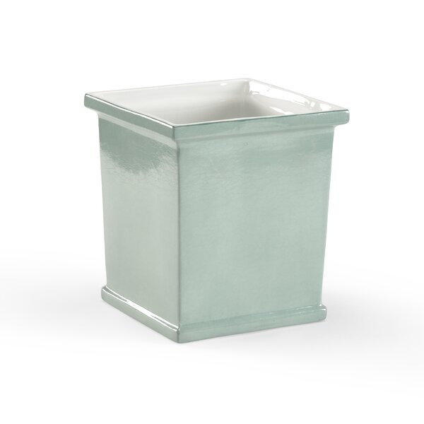 Gossamer Ceramic Planter Box by Chelsea House