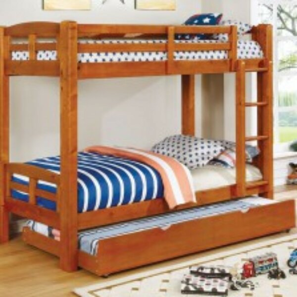 Newcastleton Twin over Twin Bunk Bed by Harriet Bee