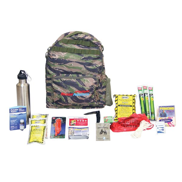 Emergency 1 Person Outdoor Survival Kit by Ready America