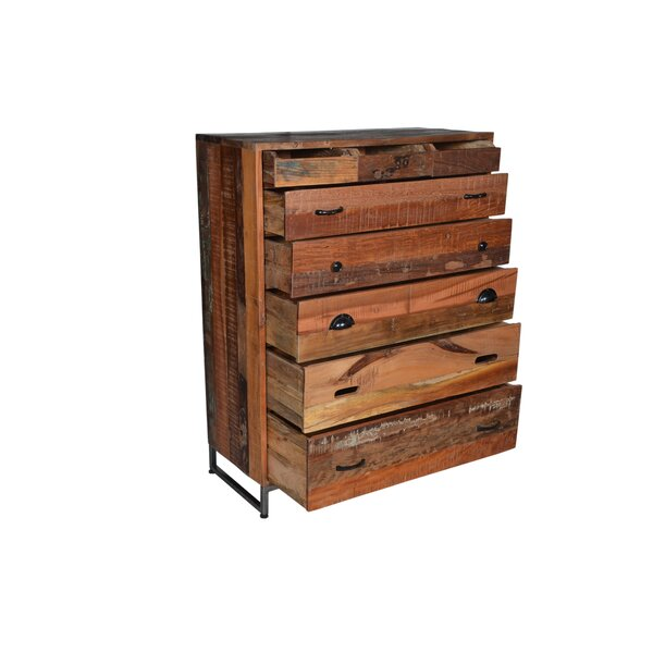 Lorenzo 8 Drawer Standard Dresser/Chest by Loon Peak