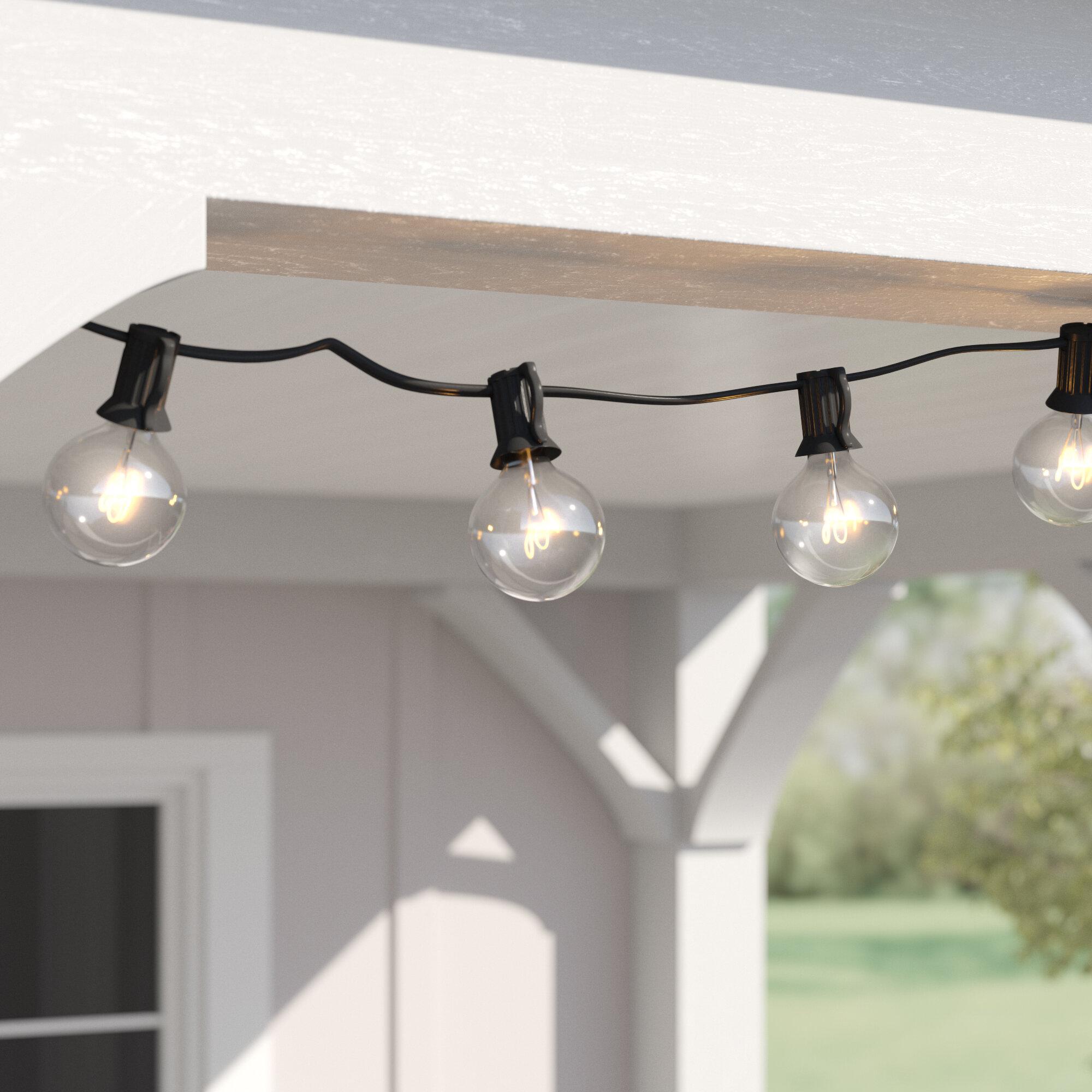 50 LED String Lights Outdoor Indoor Decor Room Tree Ceiling Lights